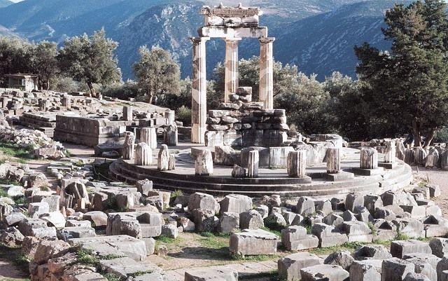 Le site de l'oracle de Delphes