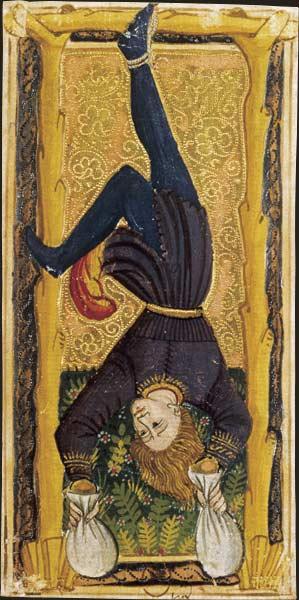Un des arcanes du Tarot de Charles VI