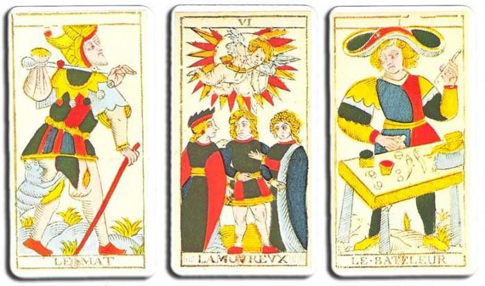 Le Tarot de Nicolas Conver dans sa version d'origine
