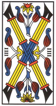 Le quatre de Bâton