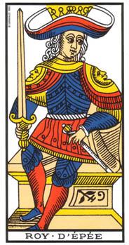 Le roi d'Epée