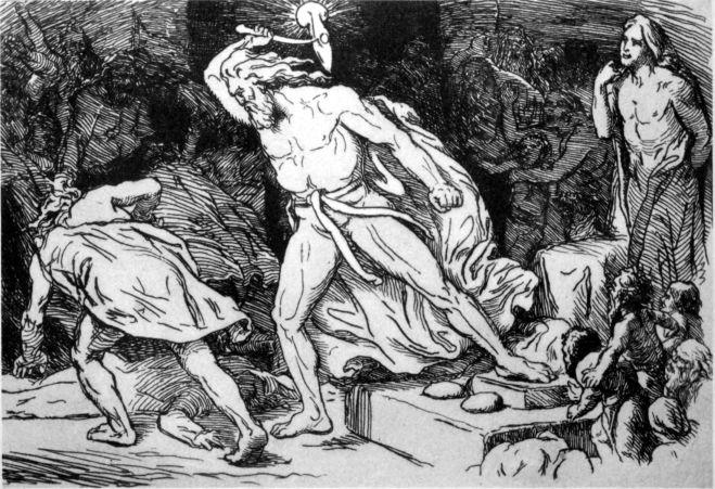 Thor, un dieu à la fois brutal et protecteur