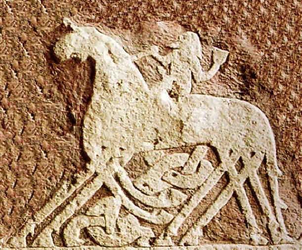 Sleipnir, le cheval d'Odin, monture des chamans