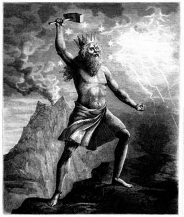 Thor, dieu de la force et du tonnerre