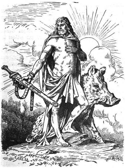Frey, dieu de la fertilité