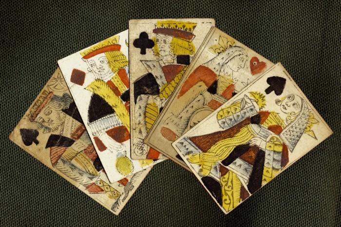 Cartes à jouer anciennes