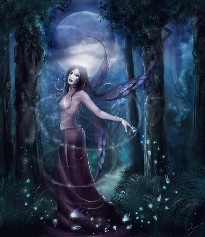 La magie est associée à l'aspect féminin