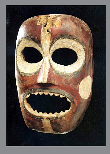 masque africain rituel