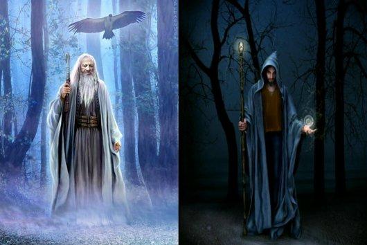 De la tunique de Merlin à la cape du sorcier, tous les vêtements rituels sont possibles