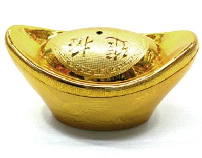 L'or est le métal sacré des offrandes aux divinités
