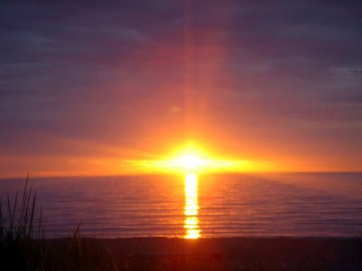 Un levé de soleil est toujours un moment magique d'optimisme