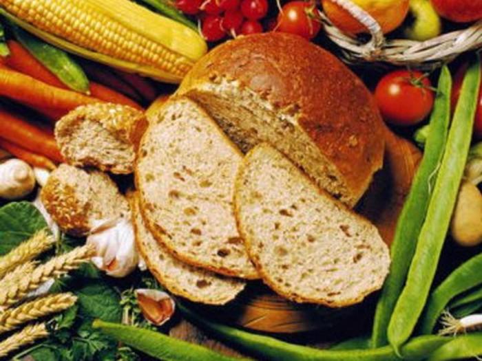 Pain de Lammas, maïs et légume frais