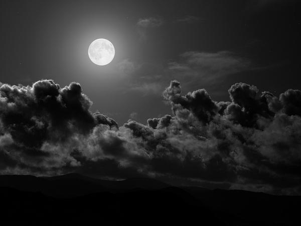 La pleine lune est un moment crucial de la Magie blanche