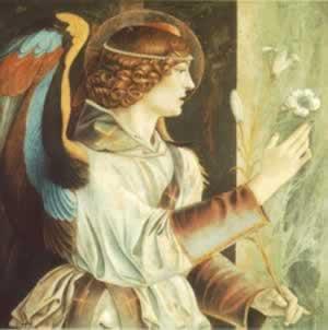L'Ange gardien Cahetel veut dire « Dieu adorable »