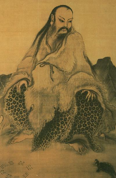 Fu Xi, créateur mythique du Yi Jing