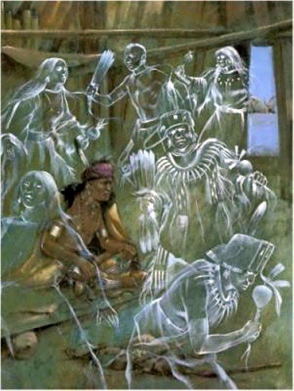 Les chamanes peuvent converser avec les esprits