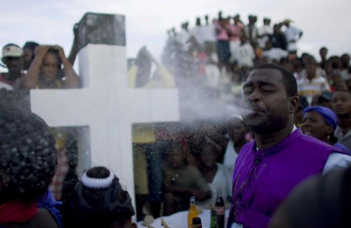 Le Vaudou haïtien s'est lentement détaché du culte originel