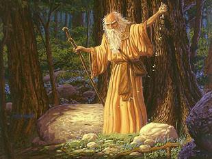 Le Druide est « celui qui sait »