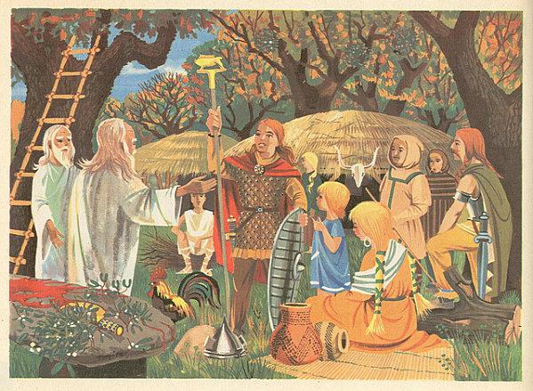 Le druide avait une place considérable dans la communauté celte