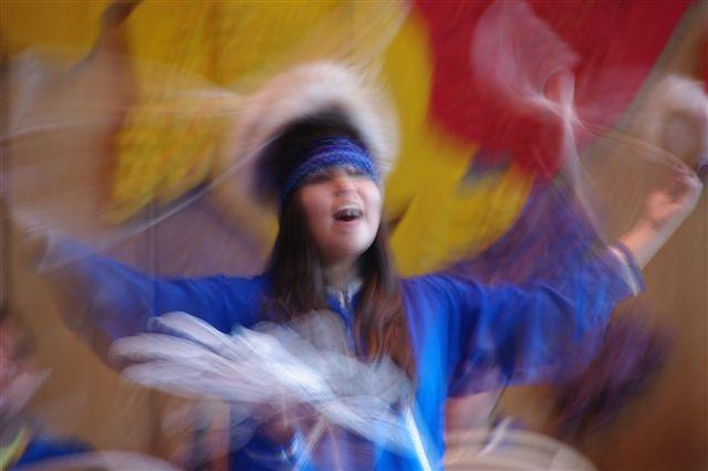 La danse est un des aspects de la Transe chamanique