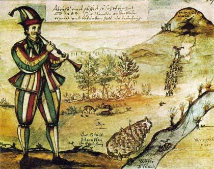 Comme le joueur de flute de Hamelin, le chamane ensorcèle les animaux