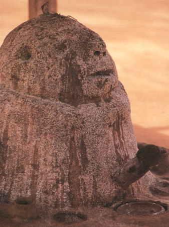 L'origine africaine présente Legba comme le phallus cosmique