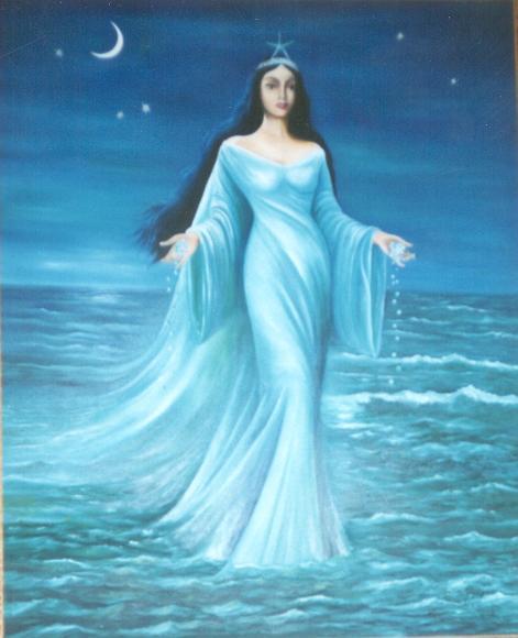Iemanja est une séductrice de grande taille, une sirène de toute beauté