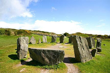 Le cercle celtique est sans fin ni commencement