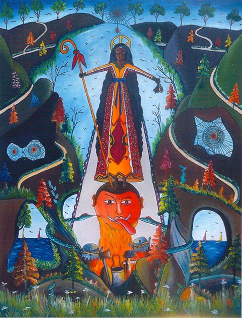 Damballah et Yansa représentent ensemble la force cosmique