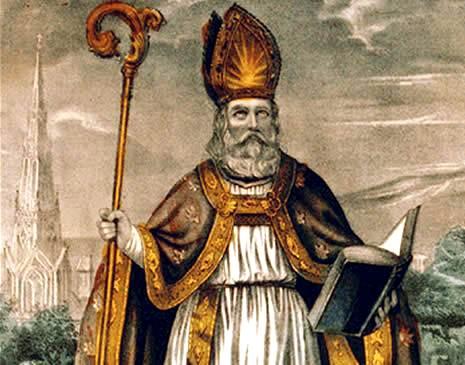 Saint Patrick un Breton romanisé christianisa l'Irlande