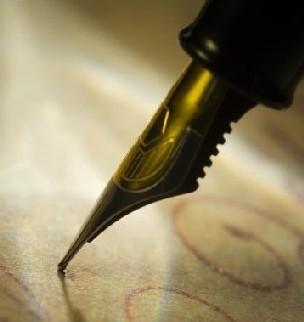 La plume accrochée à un objet peut permettre à l'Esprit de s'exprimer